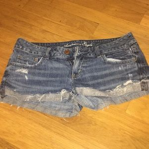 Size 6 American eagle sparkly bottom shorts